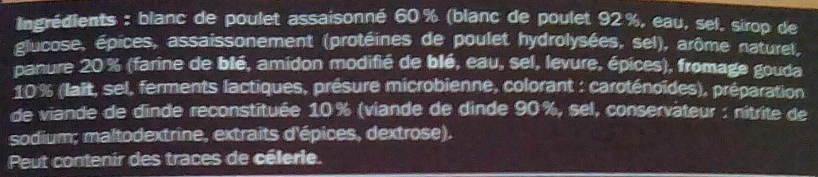 Glenfell - Cordon bleu de poulet - Ingrédients - fr