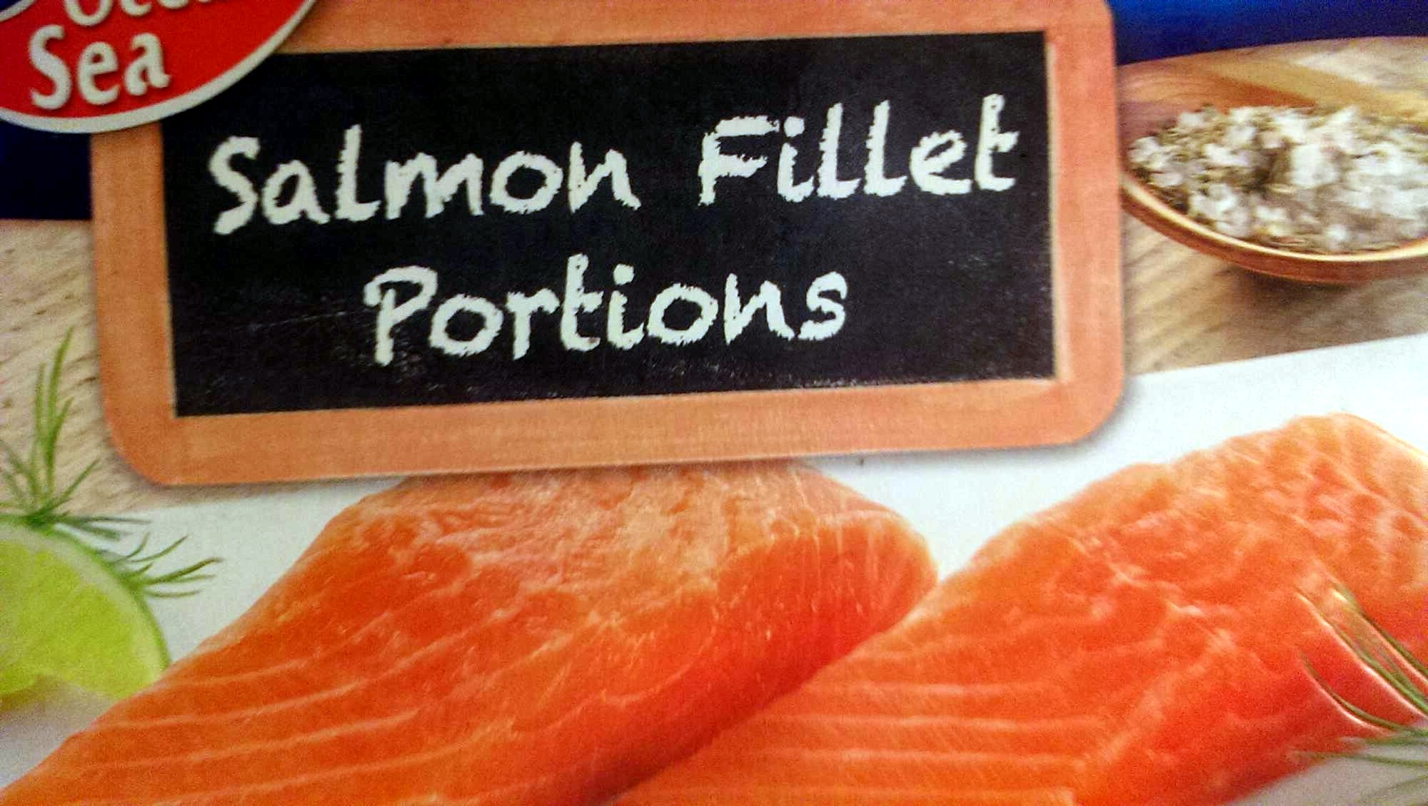 salmon fillet portions - Product