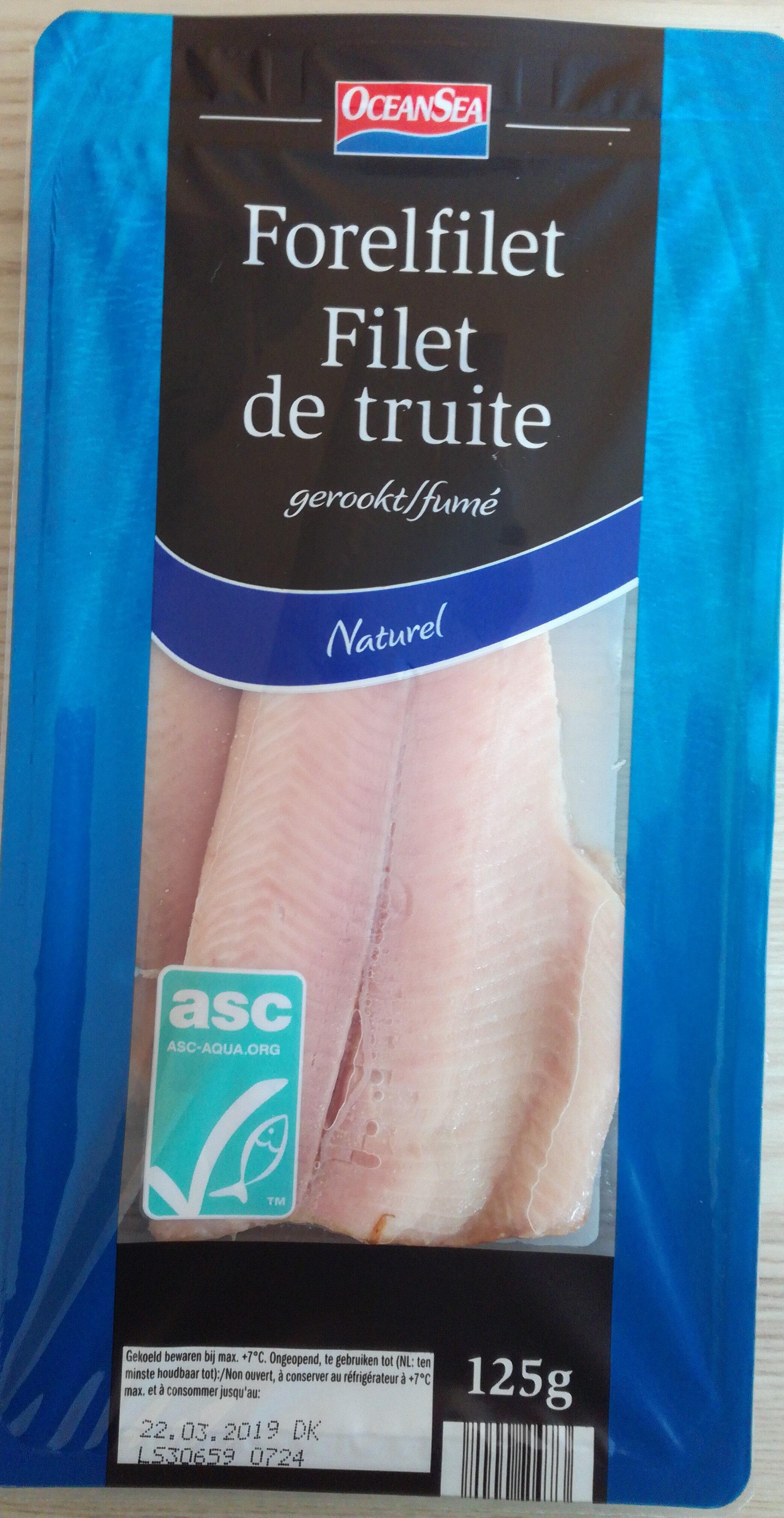 filet de truite - Product