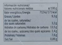 Lasagne Bolognese - Voedingswaarden - sv