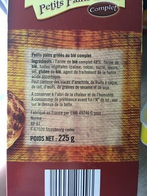 Mostaza Original - Ingredienti - fr