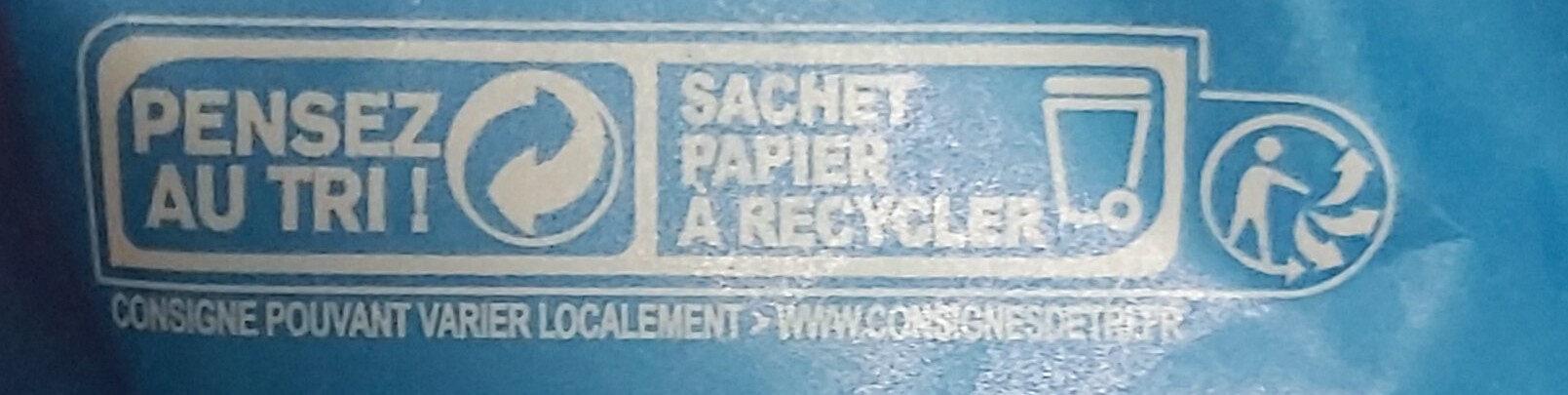 Weizenmehl Type 405 - Istruzioni per il riciclaggio e/o informazioni sull'imballaggio - en