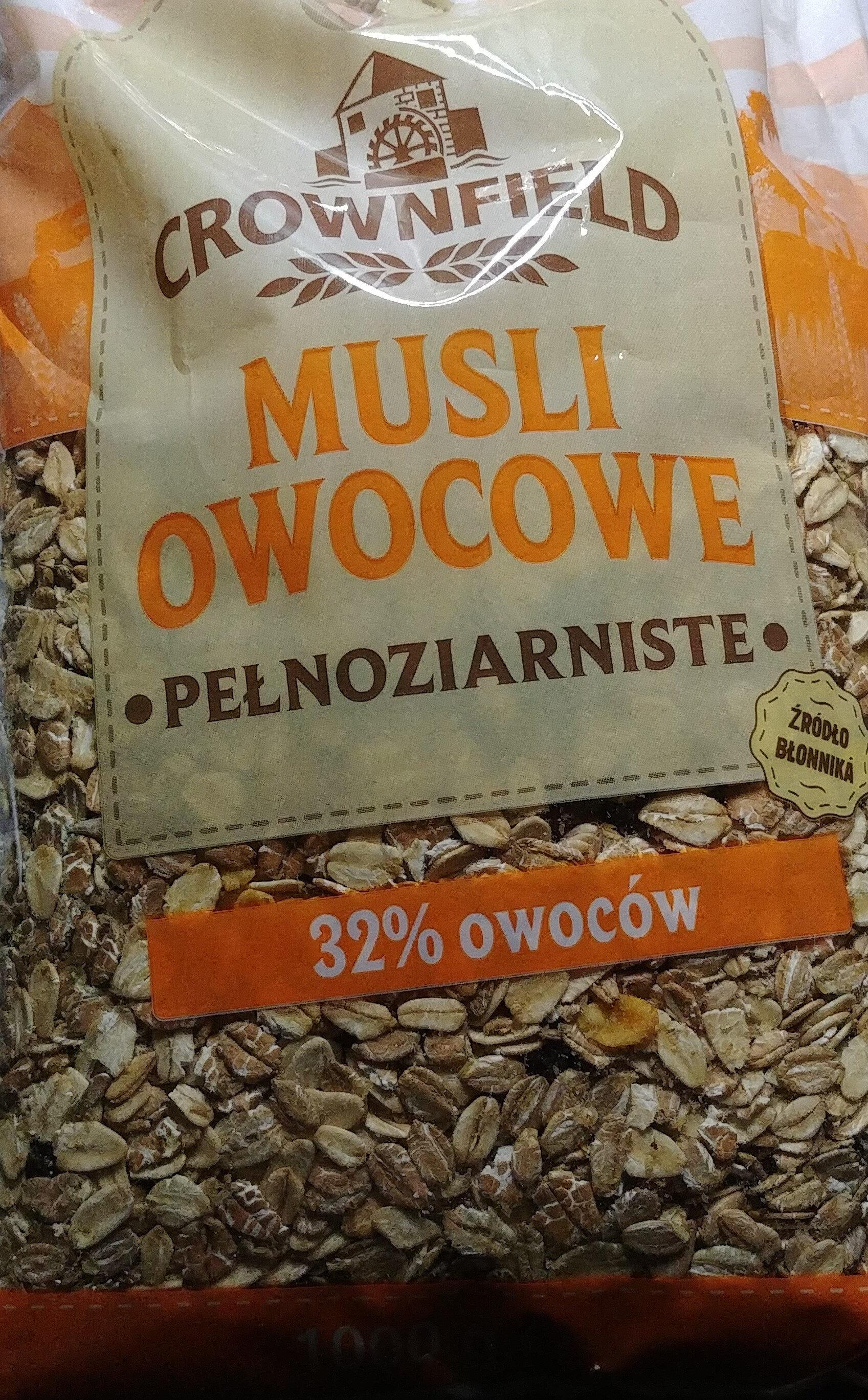 Multifrucht Müsli - Produkt - pl