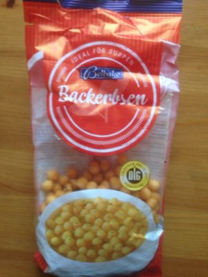 Backerbsen - Produit - fr