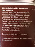 Harvest Basket Kartoffel Knödel Halb & Halb - Produkt