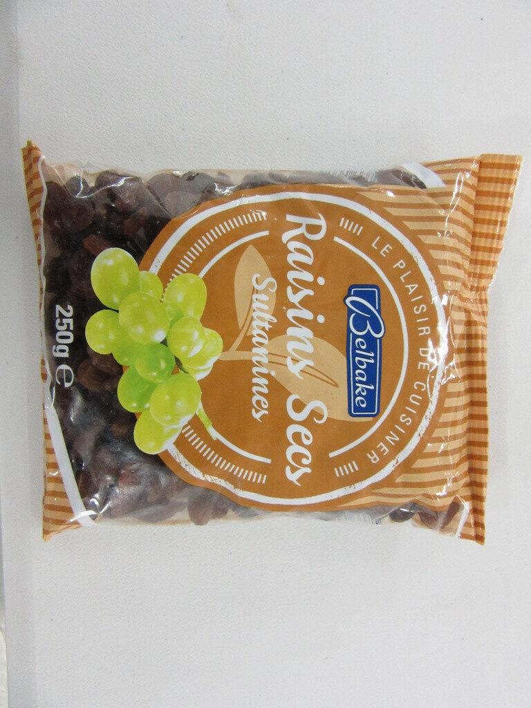 Raisins secs sultanines - Produit - fr