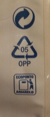 Raisins secs sultanines - Instruction de recyclage et/ou informations d'emballage - en
