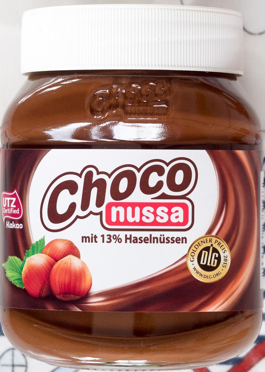 Choco nussa - Producto