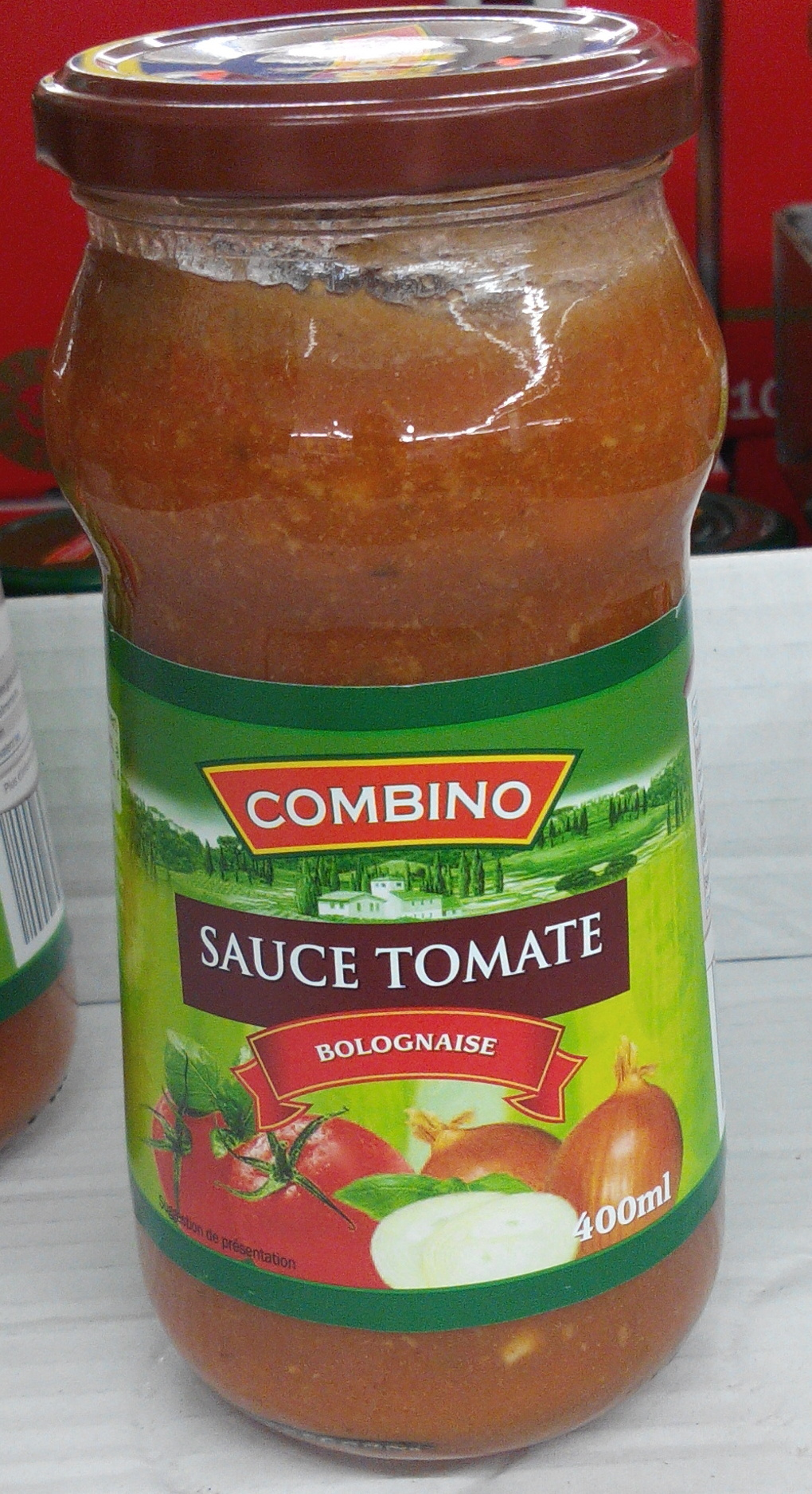 Sauce tomate bolognaise liddl combino 420 g 400 ml for Sauce tomate cuisinee