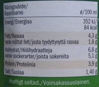 Salsa allá bolognesa - Ravintosisältö - fi