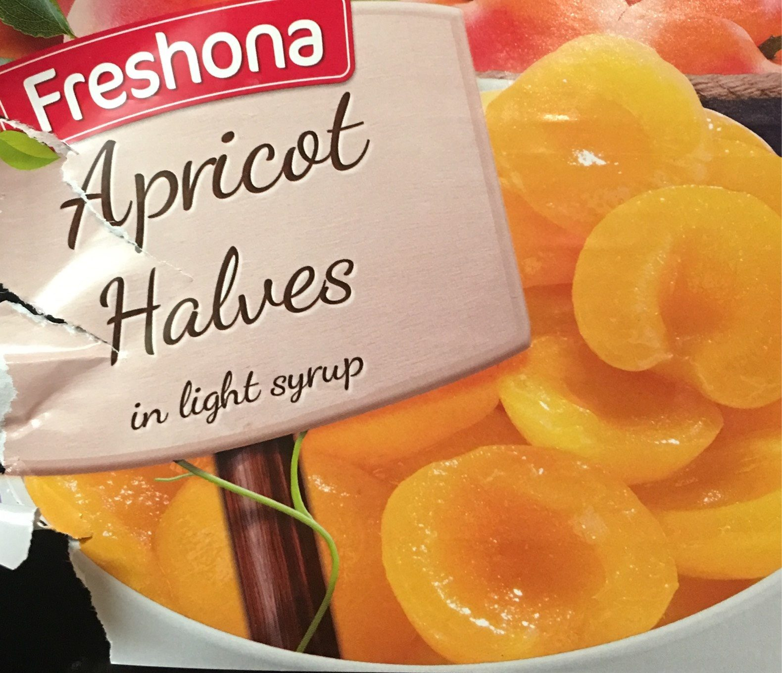 Apricots in Light Syrup - Product