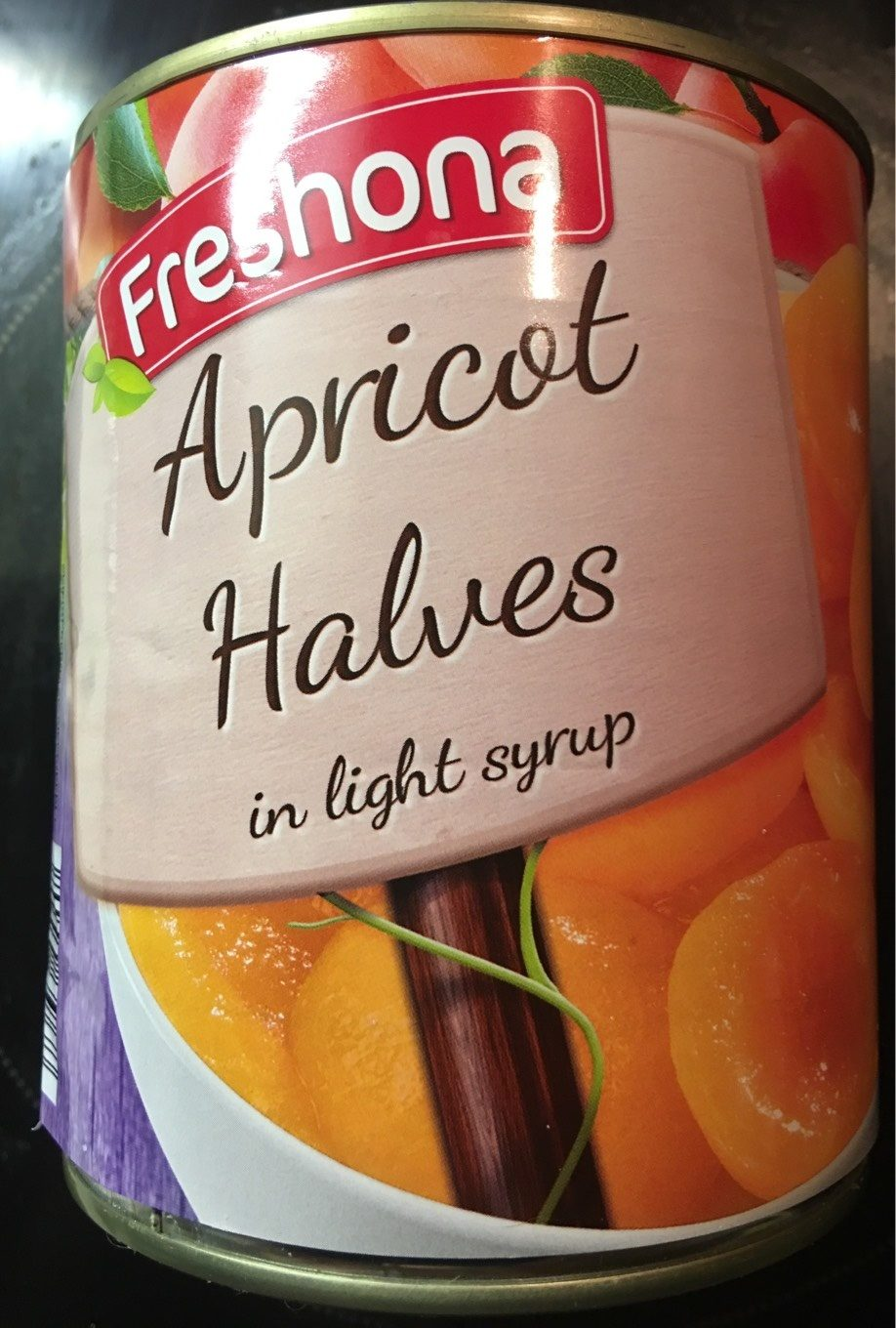 Apricots in Light Syrup - Nutrition facts