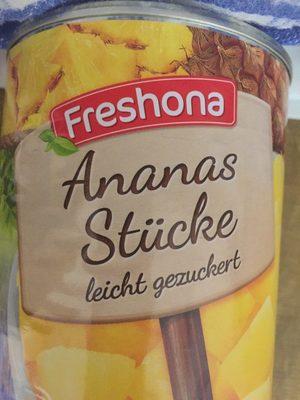 Ananas en morceaux au sirop léger - Product