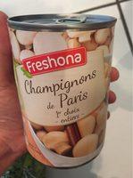 Champignons de Paris 1er choix -Entier- - Produit