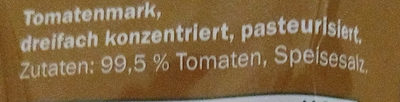 Purée de tomates - Inhaltsstoffe - de
