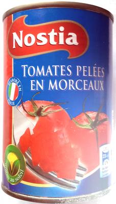 Tomaten gestückelt Tomates pelées en morceaux - Product