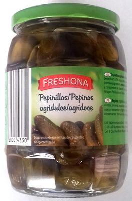 Zavárané uhorky - Producto - es