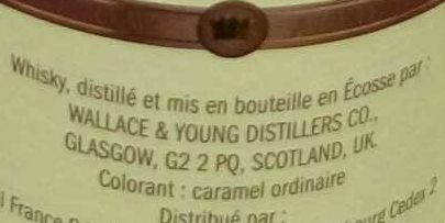 Blended Scotch Whisky - Ingredients