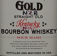 Bourbon whiskey - Ingredients