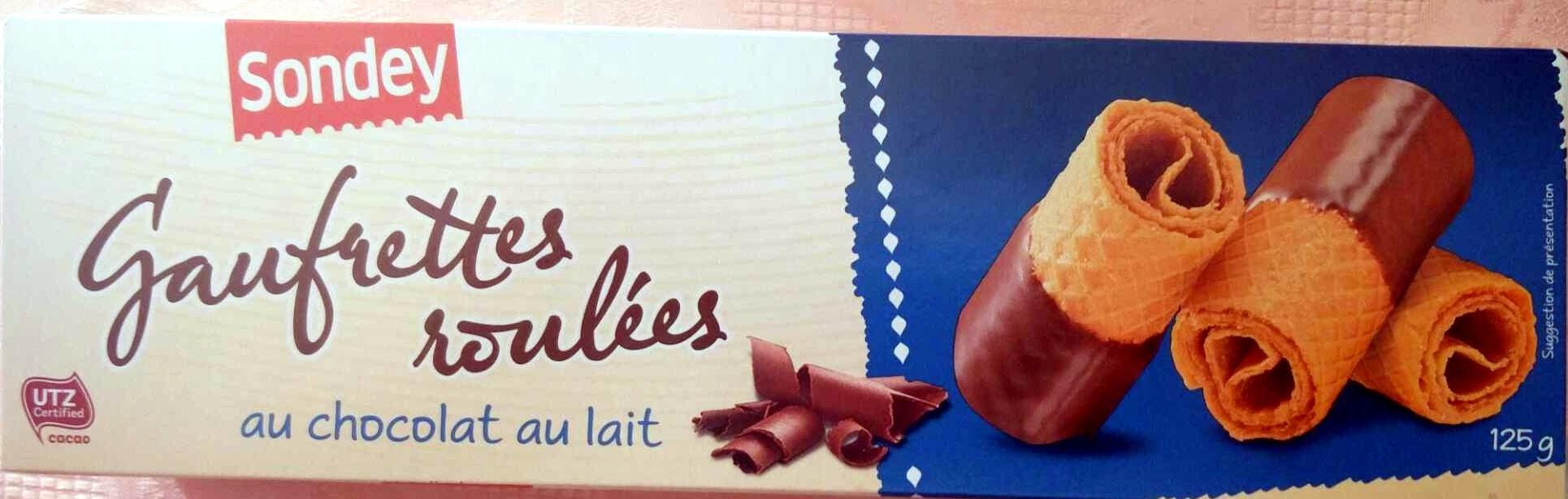 Gaufrettes roulées au chocolat au lait - Prodotto - fr