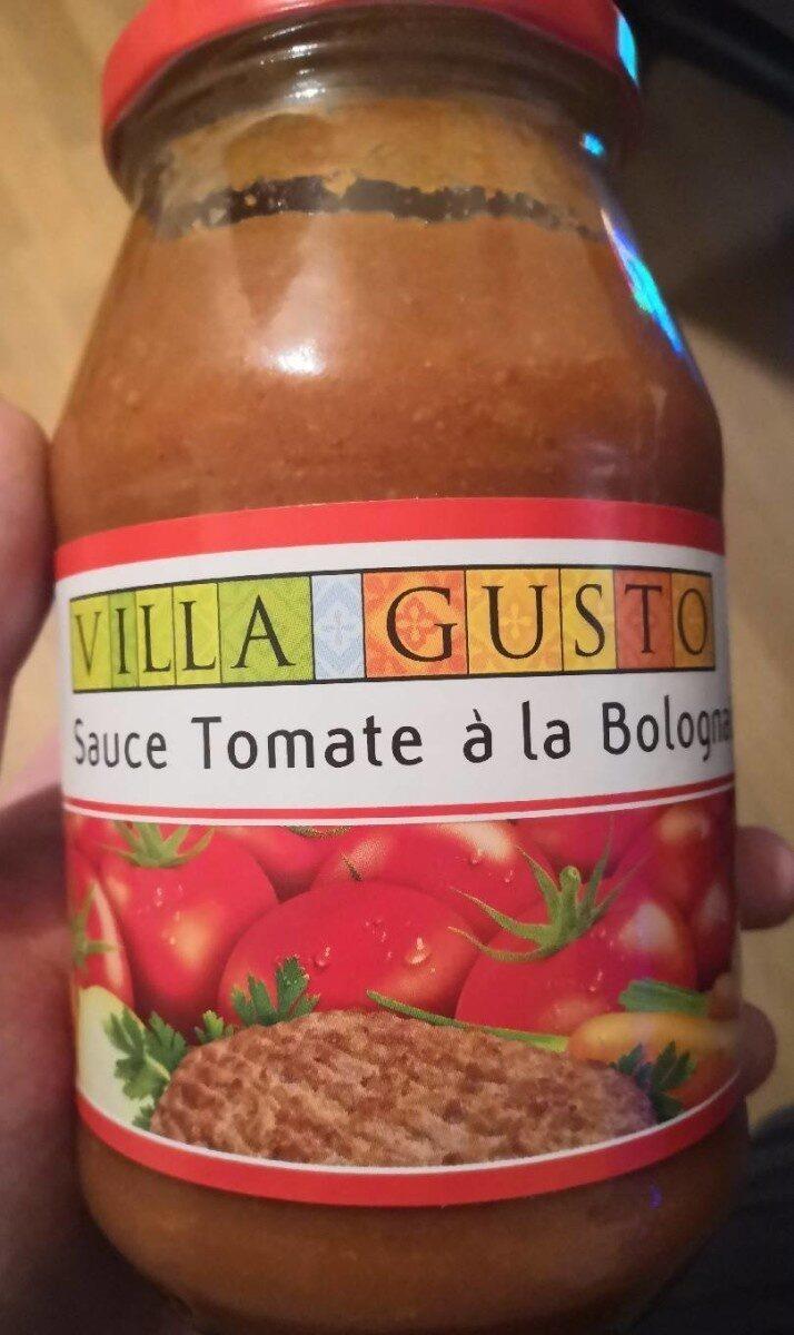 Sauce tomate a la bolognaise - Produto - sl