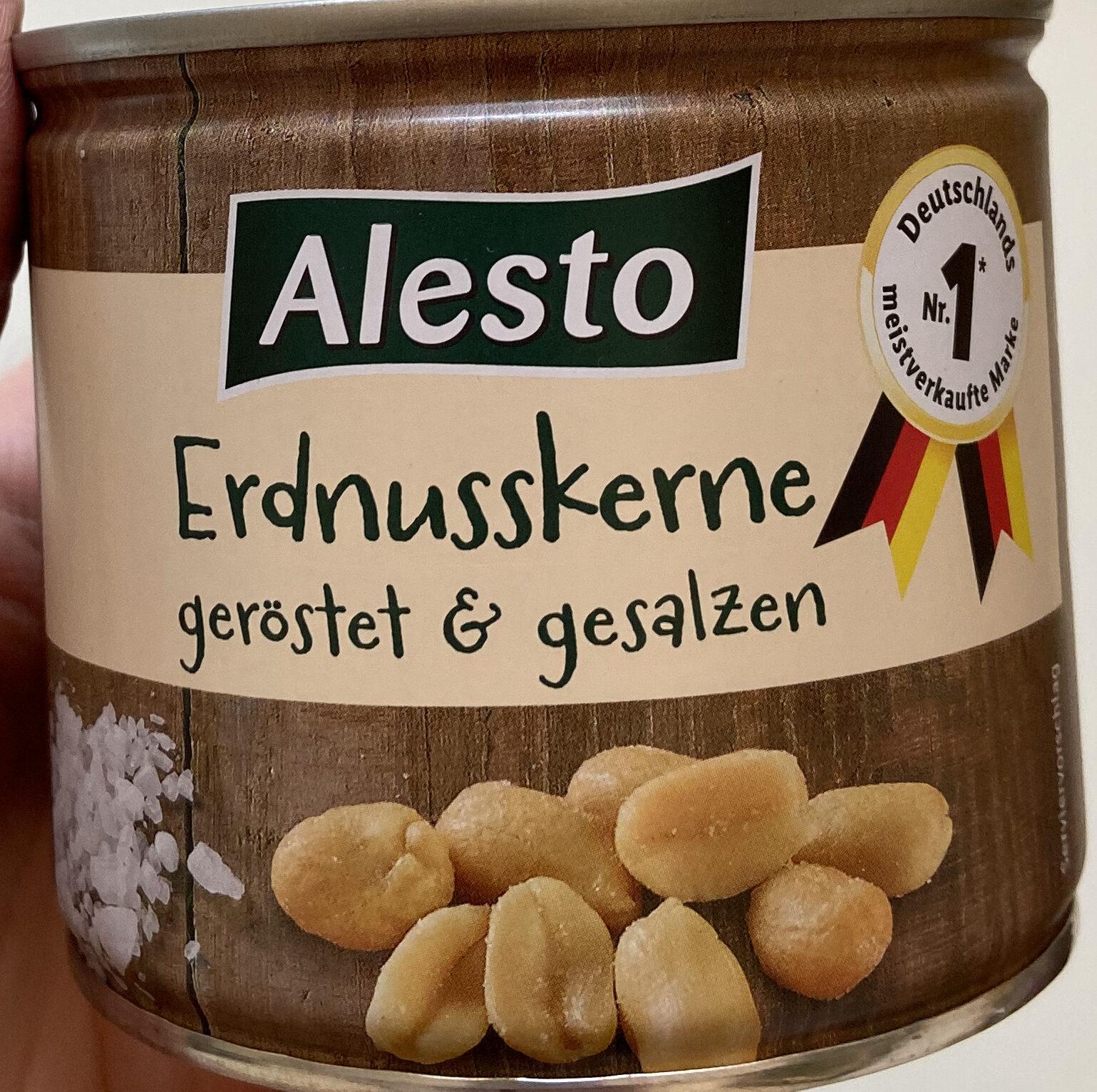 Erdnusskerne, geröstet & gesalzen - Prodotto - de