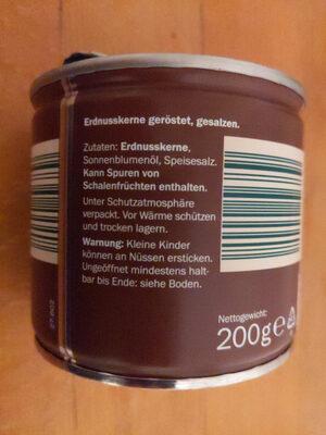 Erdnüsse, geröstet & gesalzen - Ingredients - en