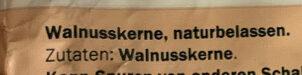Walnusskerne naturbelassen - Ingredients - de