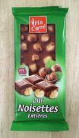 Ganze Nuss Edelvollmilch - Produit - fr