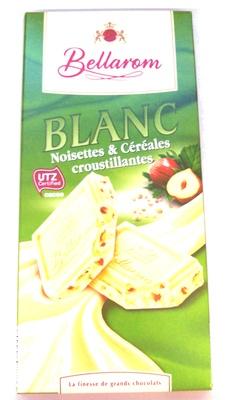Blanc Noisettes & Céréales croustillantes - Produit - fr