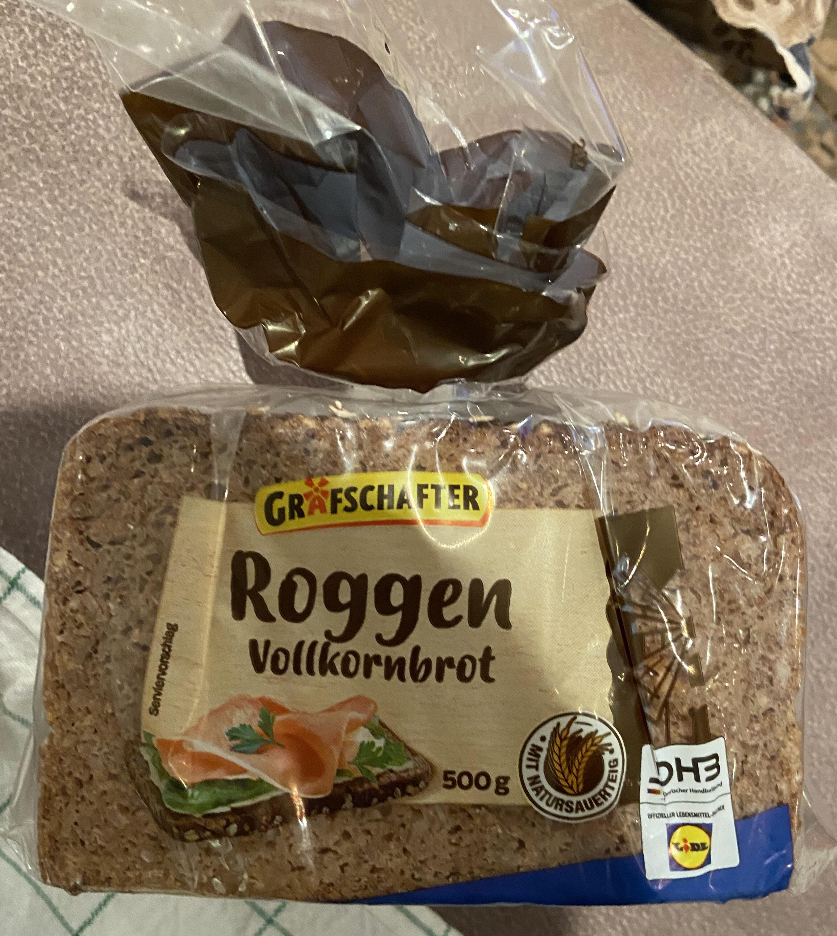 Roggenvollkornbrot - Produkt - de