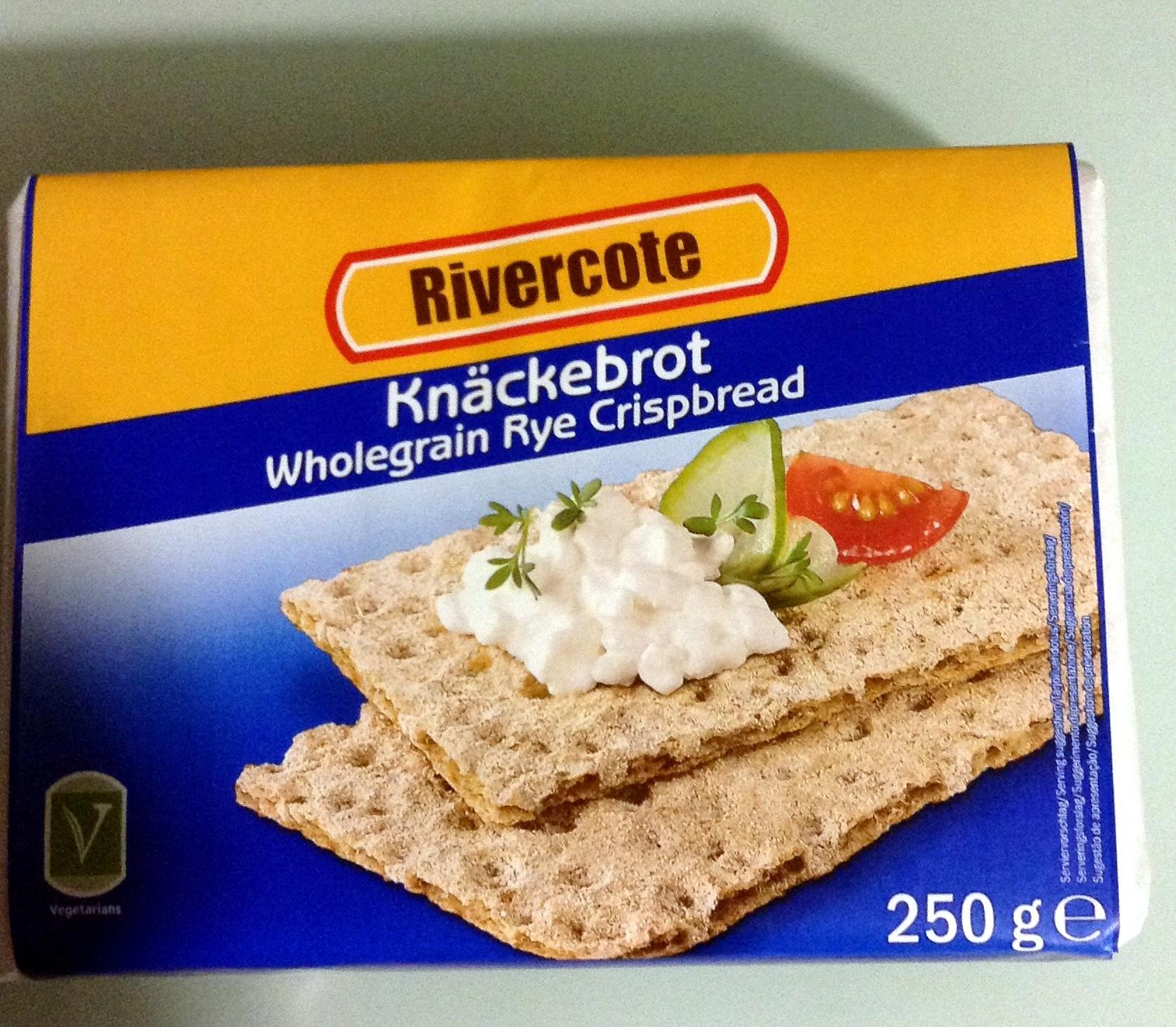 Knäckebrot Wholegrain Rye Crispbread - Product - pt