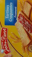 Tartine craquantes - Product - fr