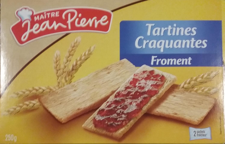 Tartine craquante froment - Produit