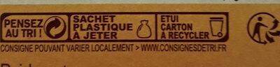 Tartine craquantes - Instruction de recyclage et/ou information d'emballage - fr