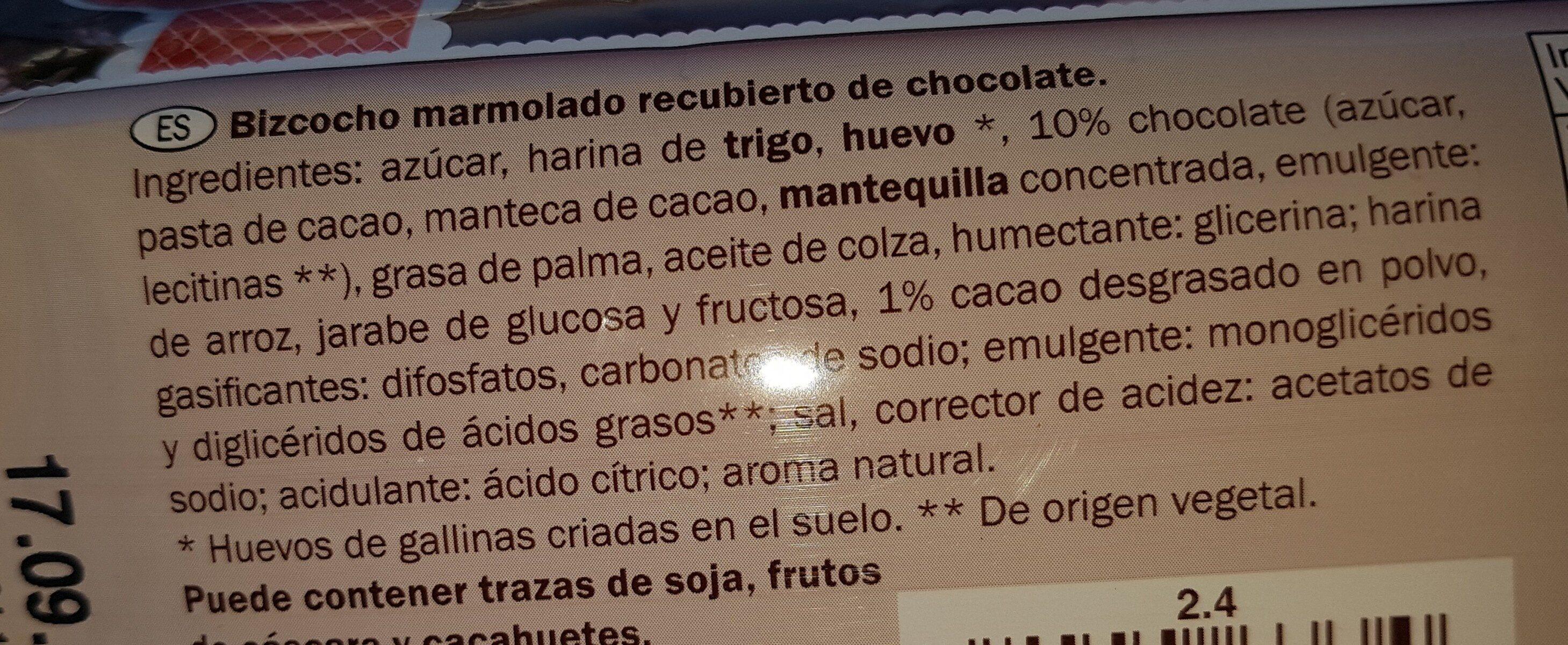 Marmolado Firenze 400g. - Ingredients - es