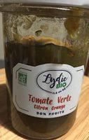 Confiture tomate verte - Produit - fr