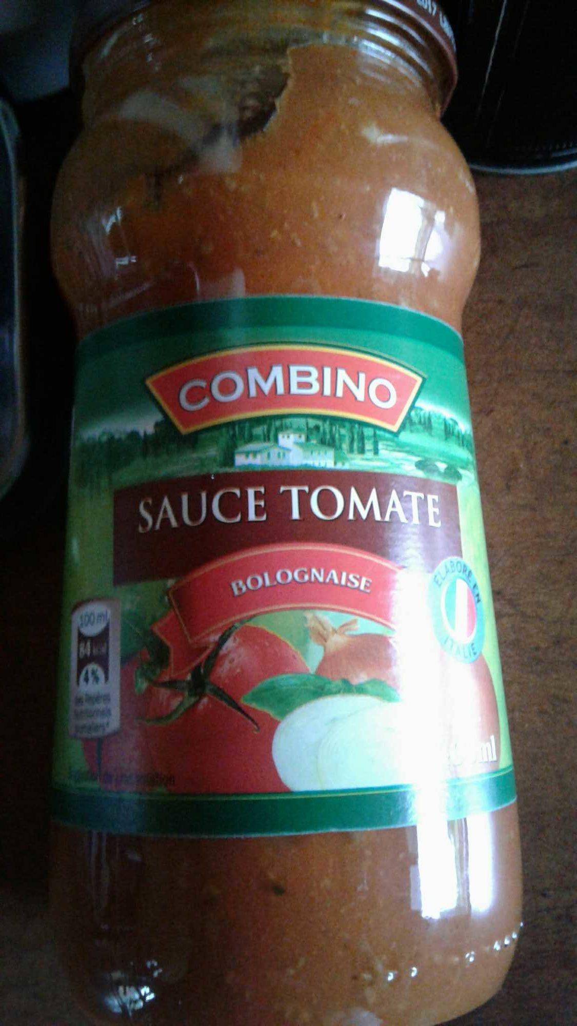 sauce tomate bolognaise - combino