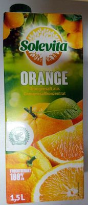 Jus d'orange à base de concentré - Produkt