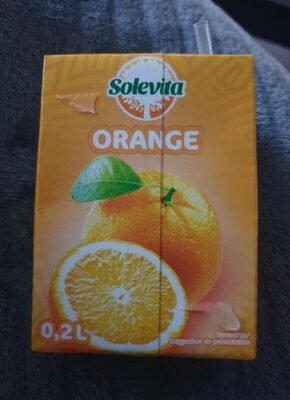 Jus d'orange solevita - Product - fr