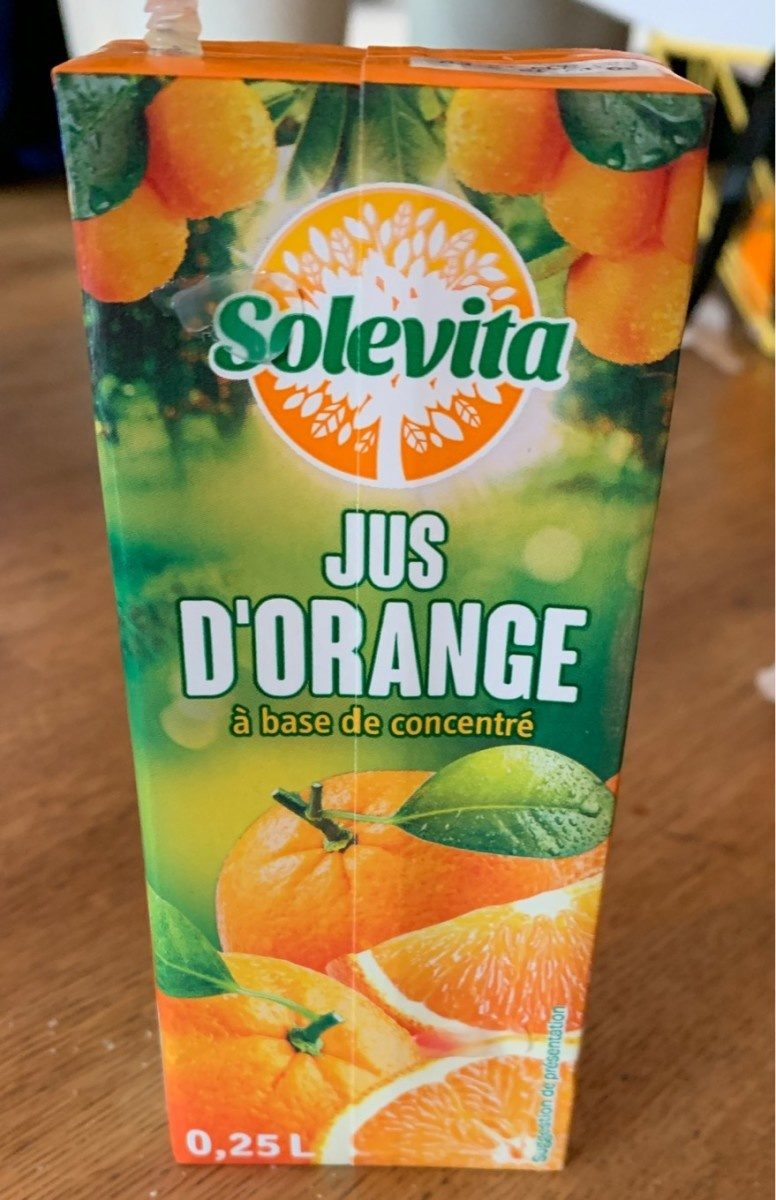 Orange Juice - Produit - fr