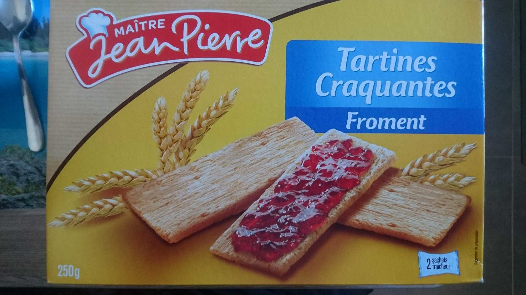 Tartines croquantes froment - Produit - fr