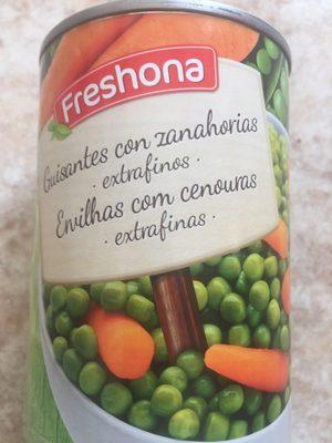 Guisantes con zanahorias - Producto