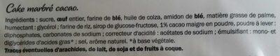 Confiserie FIRENZE cacao - Ingrediënten - fr