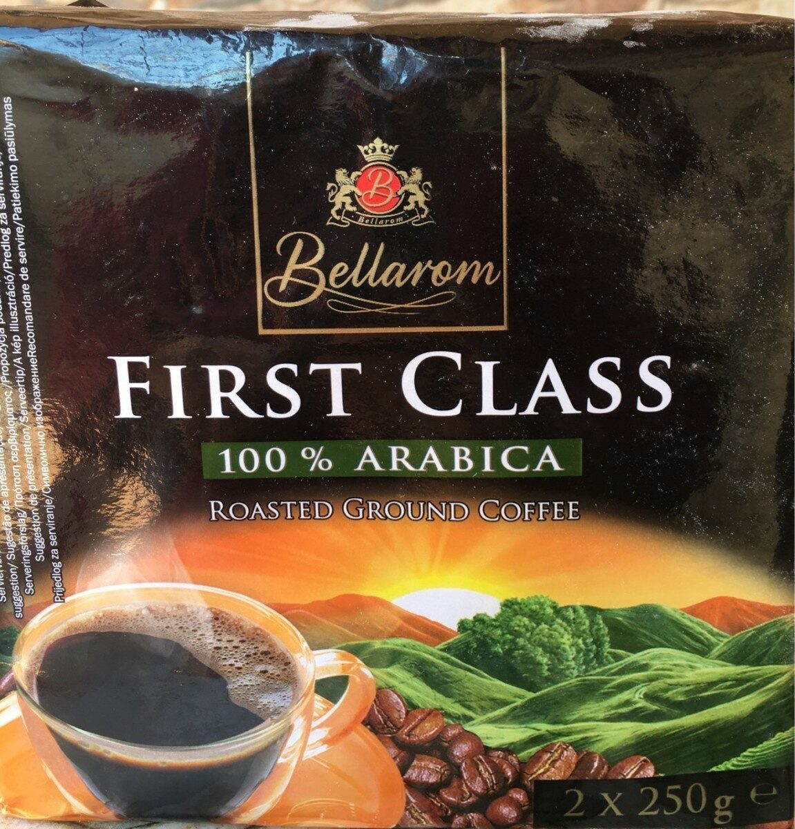First class 100% arabica - Produit - es