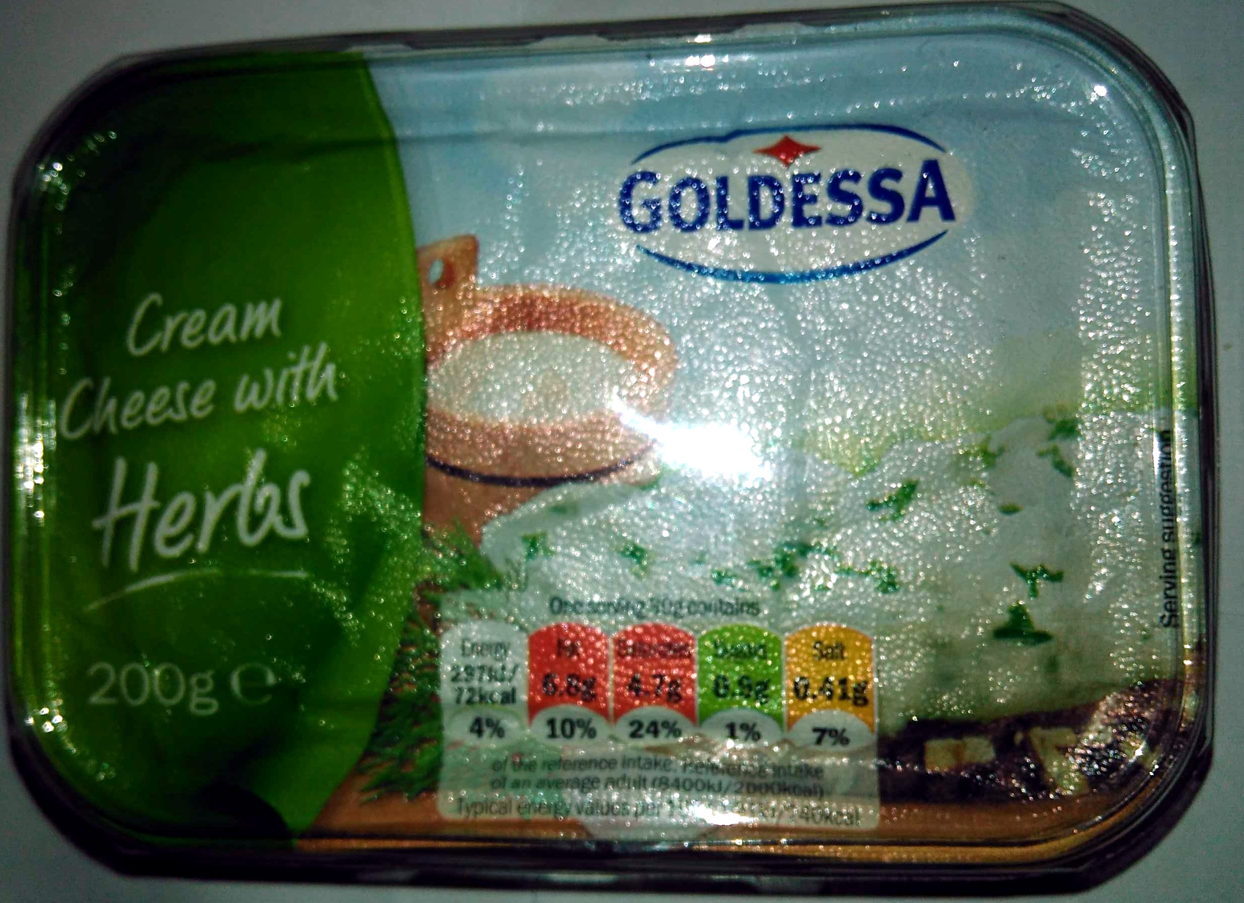 Cream cheese with herbs - Product