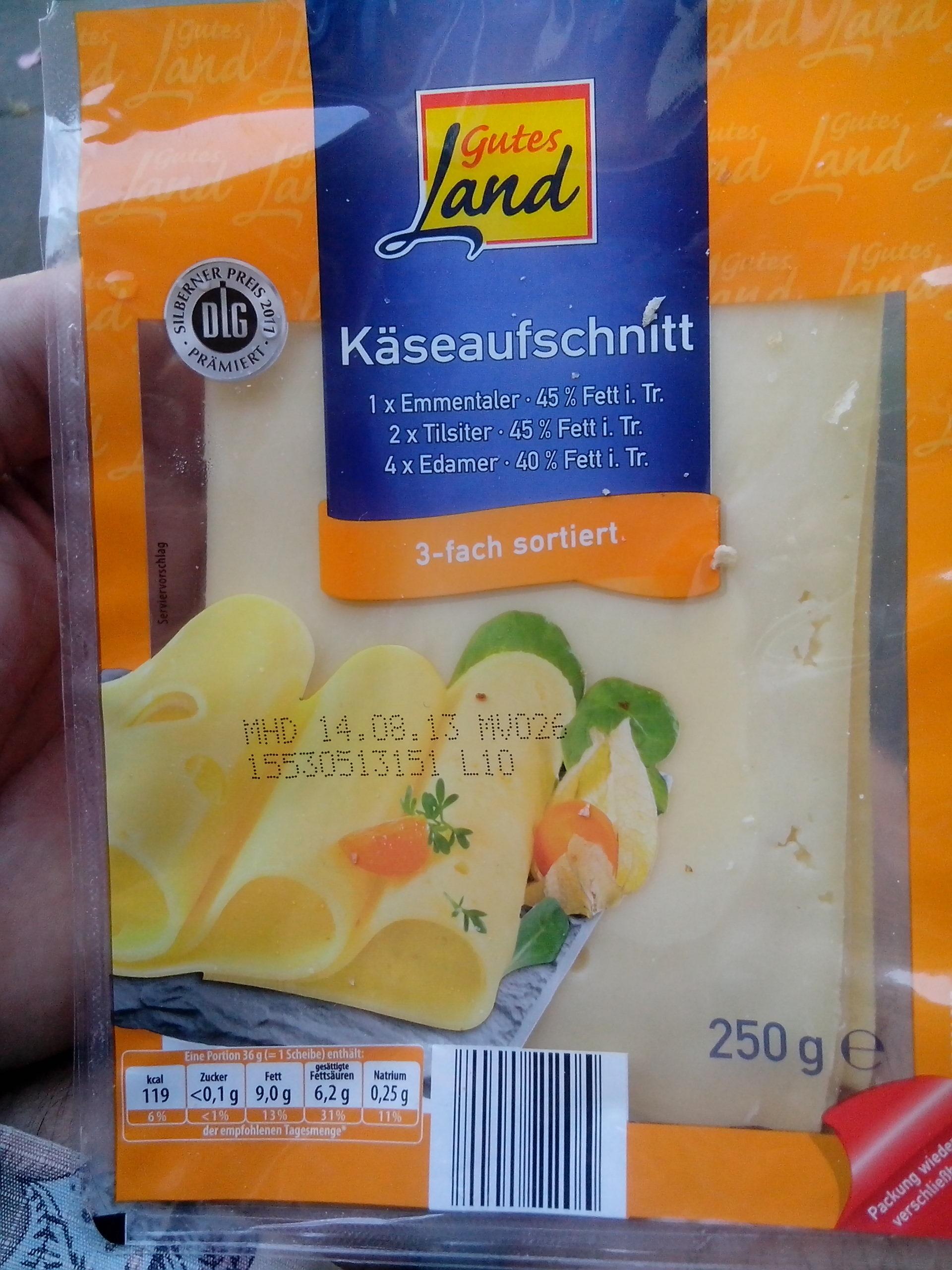 Käseaufschnitt - Produkt - de