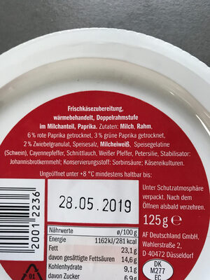 Milbona Paprika - Ingredients - de