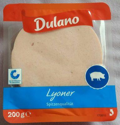 Saucisse de Lyon en tranches - Produkt