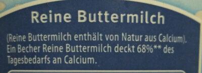Reine Butter Milch - Ingrediënten